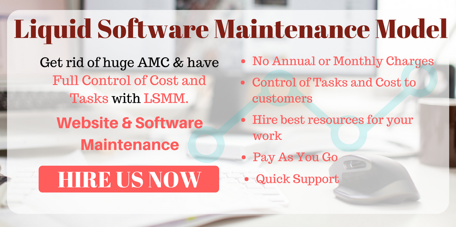 Scrum Technology Website Maintenance